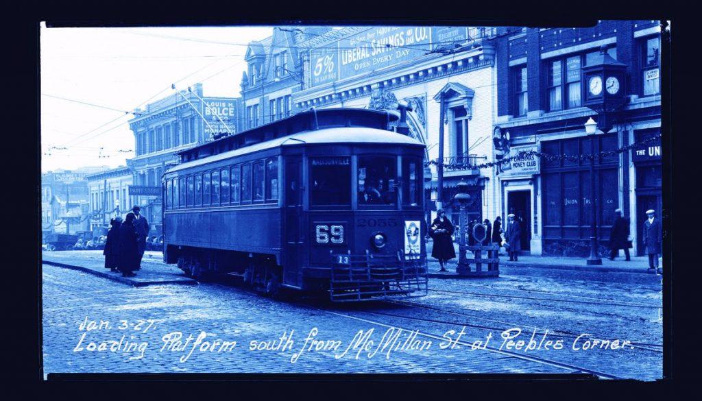 Peebles Corner Streetcar